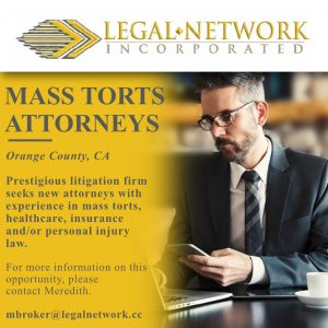 Mass Torts Attorneys – Orange County